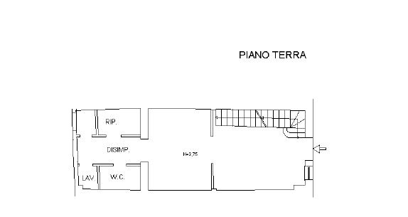 PIANO TERRA STUDIO